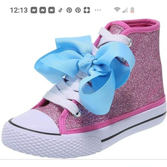 Jojo Siwa Pink Sparkle Shoes Size 5